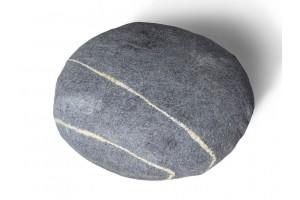 Пуф Wool Stone M