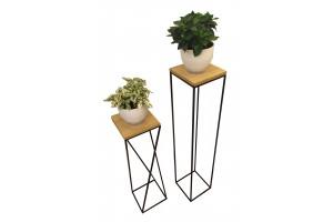 Подставка для цветов Quadro Wood 1000
